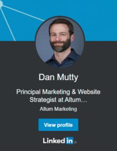 Dan Mutty LinkedIn